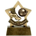 Man of the Match Trophy A1698